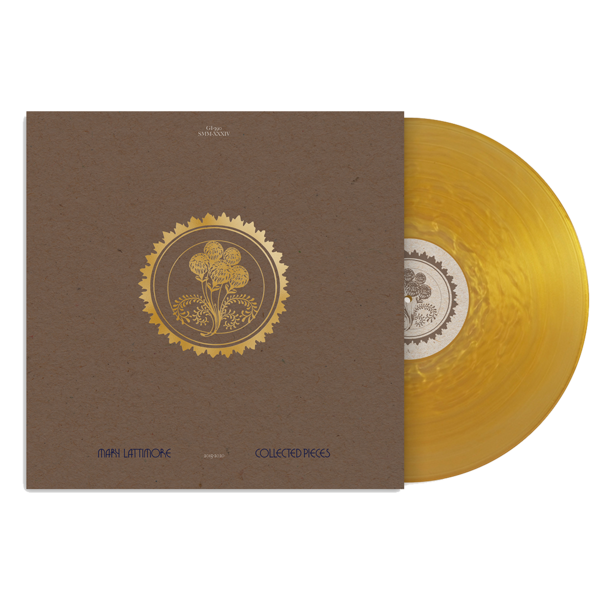 Mary Lattimore: Collected Pieces: 2015-2020:  Gold Ripple Vinyl LP