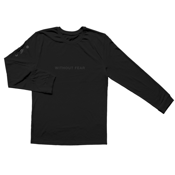 Dermot Kennedy: Wicklow Mountains Longsleeve: Black on Black Edition - S