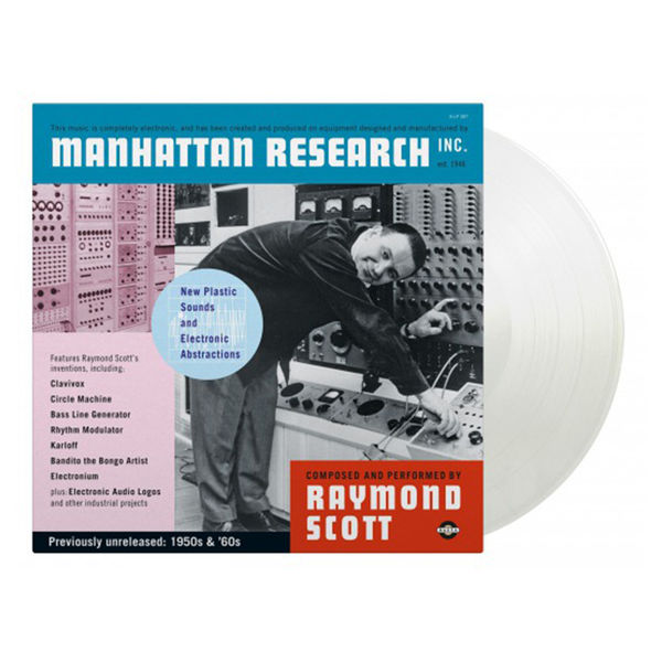 Raymond Scott: Manhattan Research: Limited Edition Transparent Vinyl