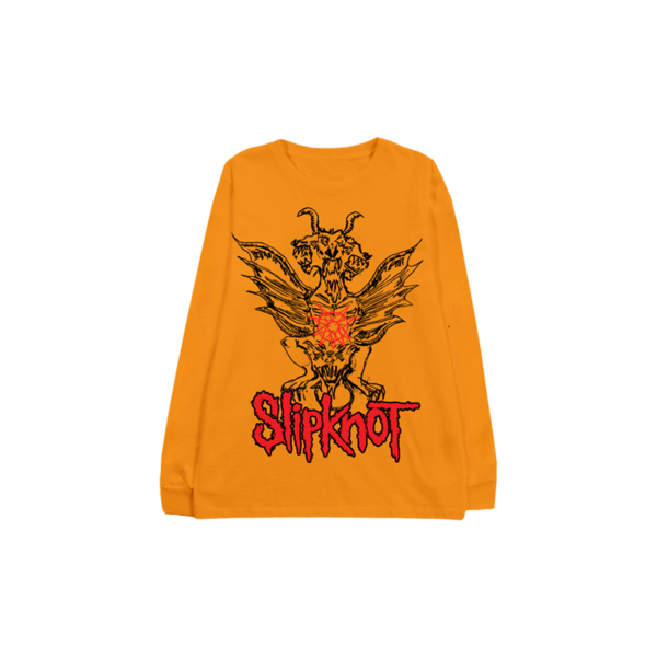 Slipknot: Winged Devil Golden Longsleeve Shirt
