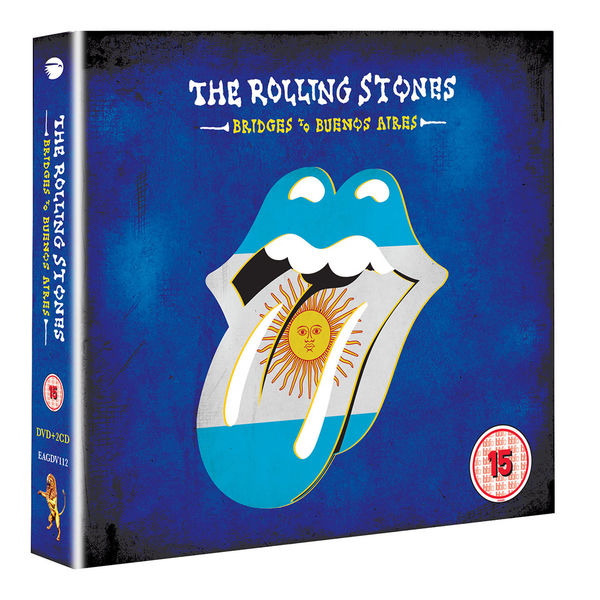 The Rolling Stones: Bridges To Buenos Aires Blu-Ray + 2CD
