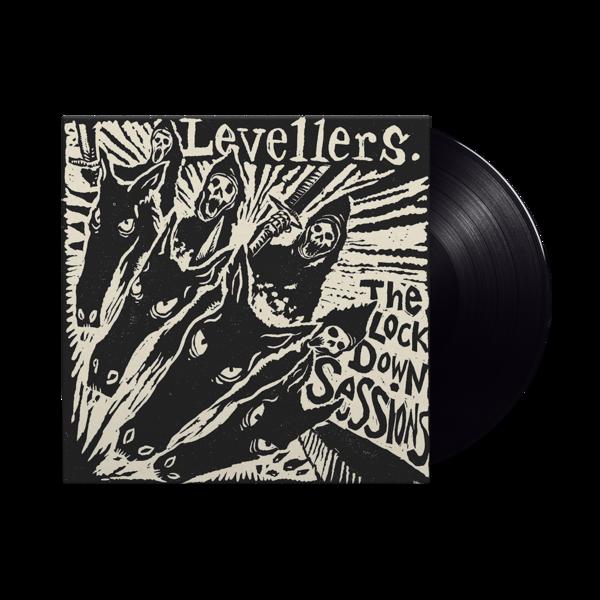 Levellers: The Lockdown Sessions: Black Vinyl LP + DVD