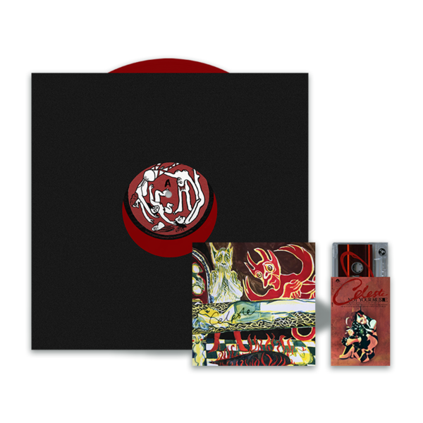 Celeste: ALTERNATIVE TRACK LISTING EDITION (LIMITED RED VINYL) & Cassette Set