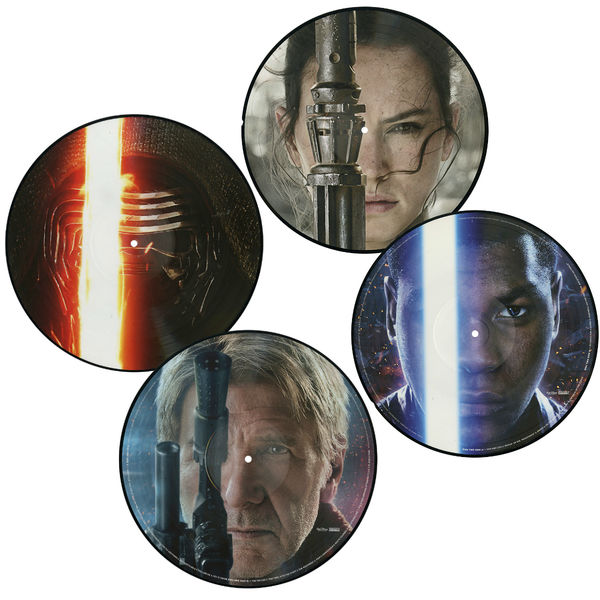 John Williams: Star Wars: The Force Awakens: Limited Edition Picture Disc Double Vinyl