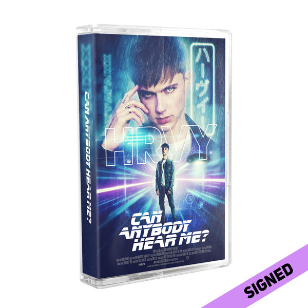HRVY: Signed Can Anybody Hear Me? Cassette