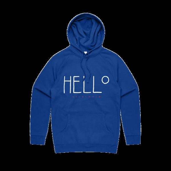 Aurora: HELLO Blue Monday hoodie LIMITED EDITION