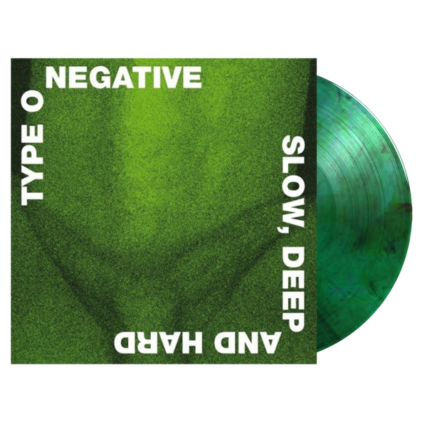 Type O Negative : Slow, Deep, And Hard: Limited Edition Green + Black Vinyl LP