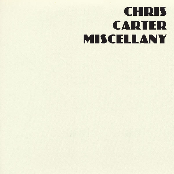 Chris Carter: Miscellany: Coloured Vinyl Box Set