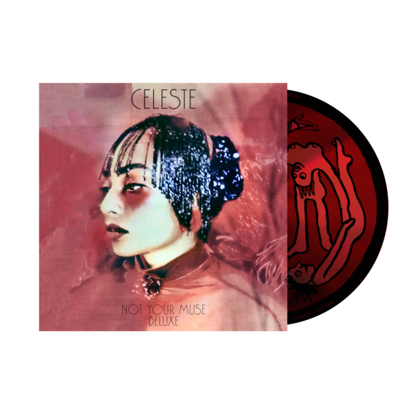 Celeste: Not Your Muse Alternative Cover Deluxe CD