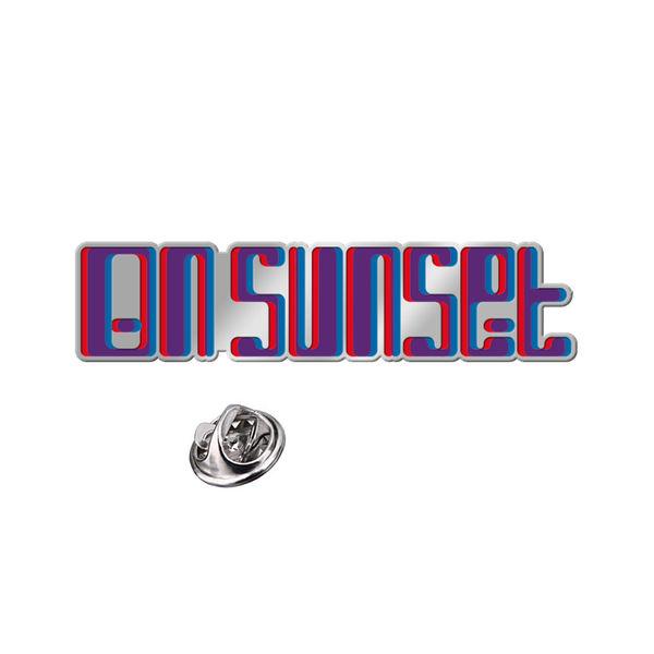 Paul Weller: On Sunset Pin Badge