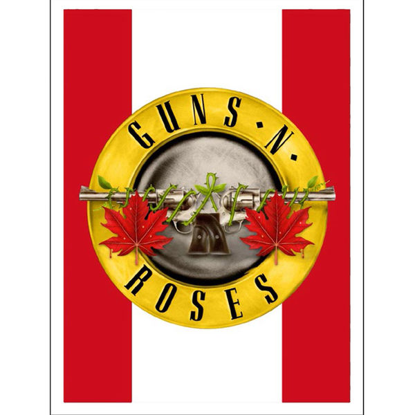 Guns N' Roses: Maple Leaf Seal Lithograph