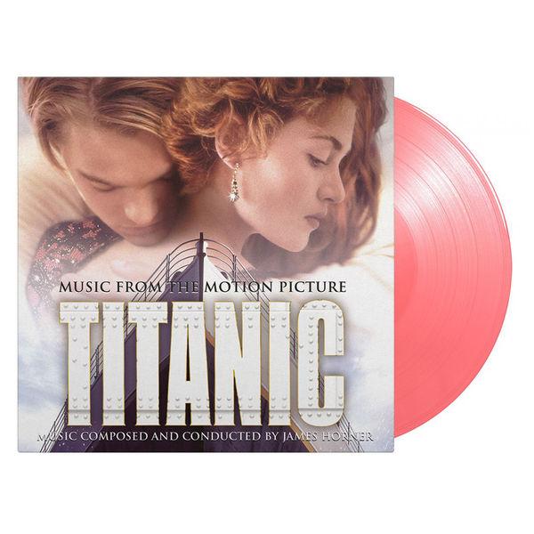 Celine Dion: Titanic: Limited Edition Gatefold Translucent Pink Vinyl