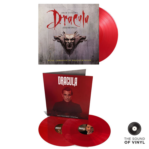 Original Soundtrack: The Sound Of... Dracula: Deluxe Colour Vinyl Exclusive Bundle