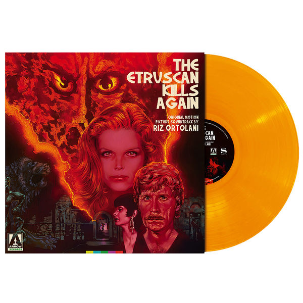Original Soundtrack: The Etruscan Kills Again: Orange Vinyl
