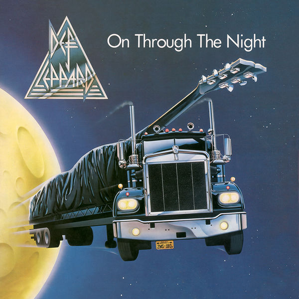 Def Leppard: On Through The Night: Black Vinyl