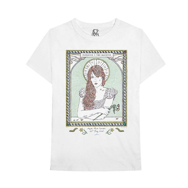 Florence + The Machine: Hyde Park event tee - M