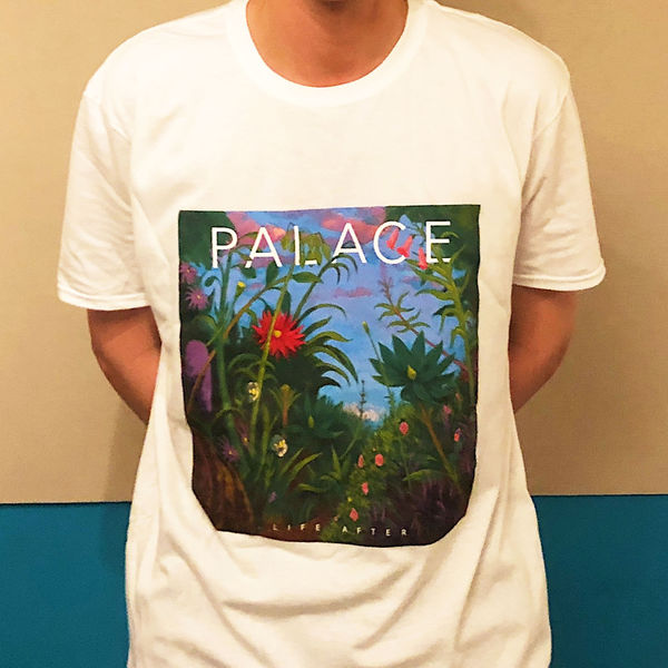 Palace: Life after Album Tshirt (white)