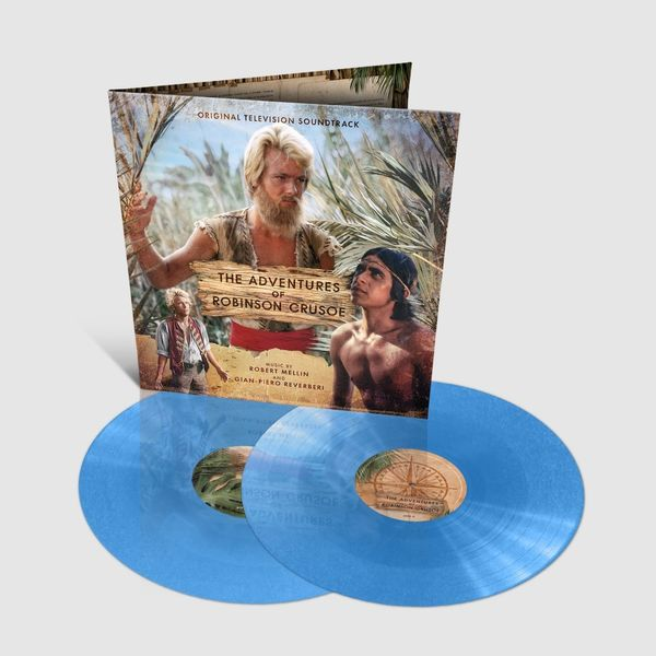 Original Soundtrack: The Adventures of Robinson Crusoe: Limited Edition Gatefold Azure Blue Vinyl