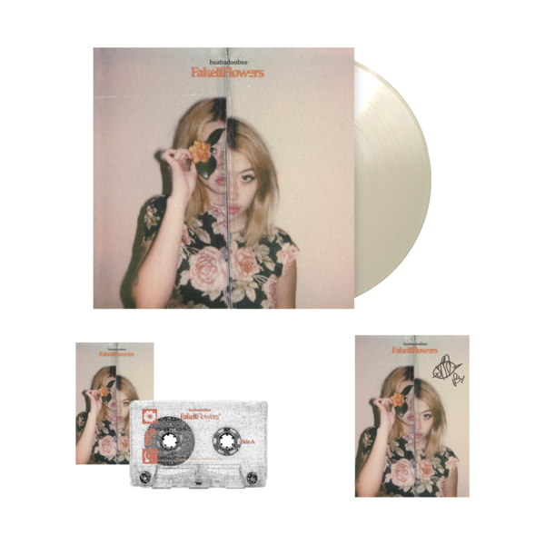 Beabadoobee: Fake It Flowers Exclusive Natural LP Bundle (Signed)