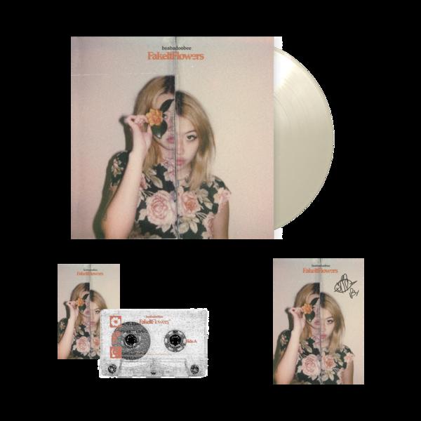 Beabadoobee: Fake It Flowers Exclusive Natural LP Bundle (Signed)