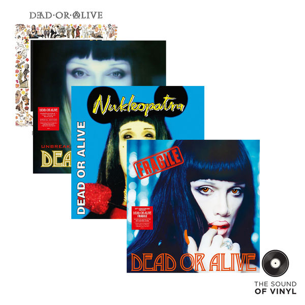 Dead Or Alive: The Sound Of... Dead Or Alive: Deluxe Colour Vinyl Editions Exclusive Bundle
