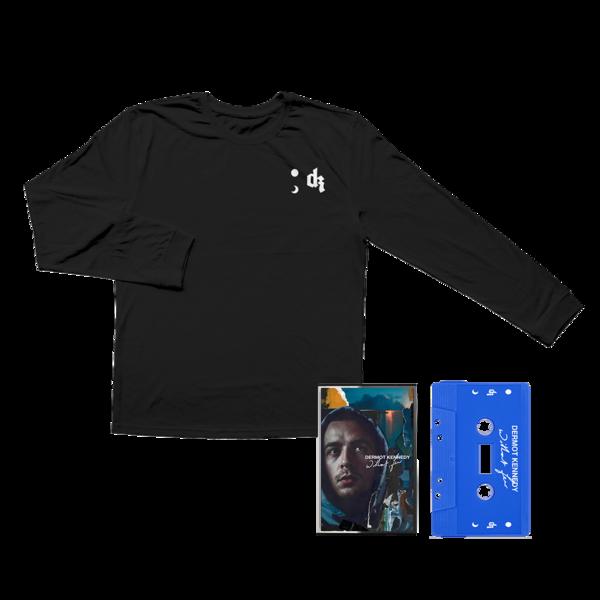 Dermot Kennedy: Without Fear: Blue Cassette + Longsleeve Lyric Tee