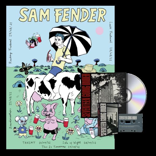 Sam Fender: CD + CASSETTE #2 + POSTER BUNDLE