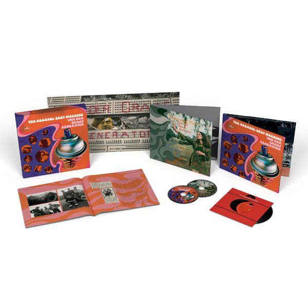 Van Der Graaf Generator: The Aerosol Grey Machine 50th Anniversary Edition Box Set