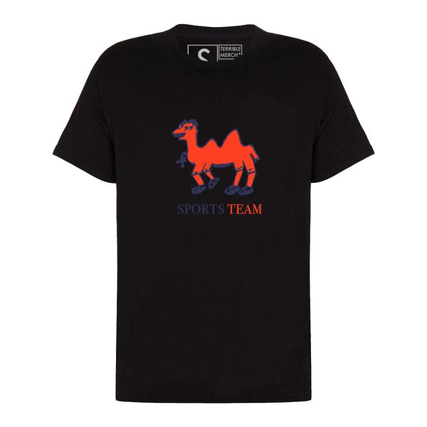 Sports Team: Camel Tee: Black