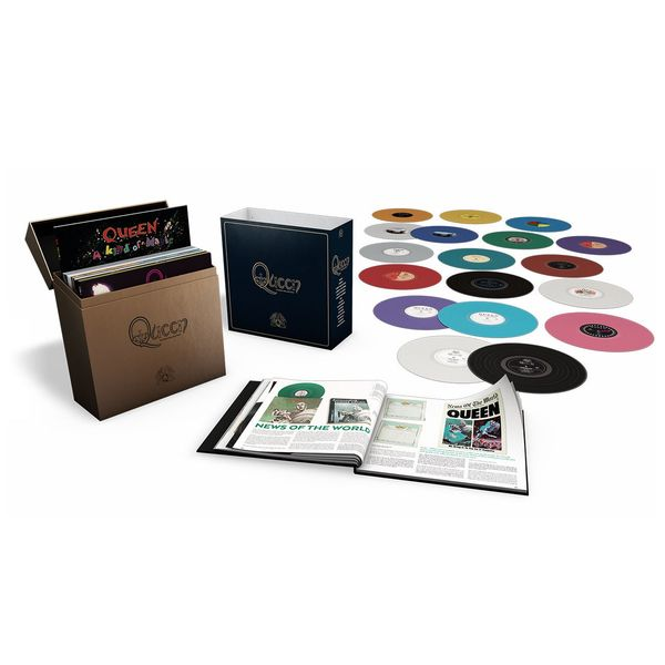 Queen: Queen: The Studio Collection (Coloured Vinyl Box Set)