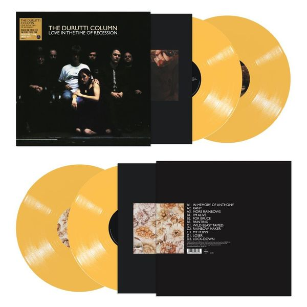 The Durutti Column: Love In The Time Of Recession: Limited Edition Amber Vinyl