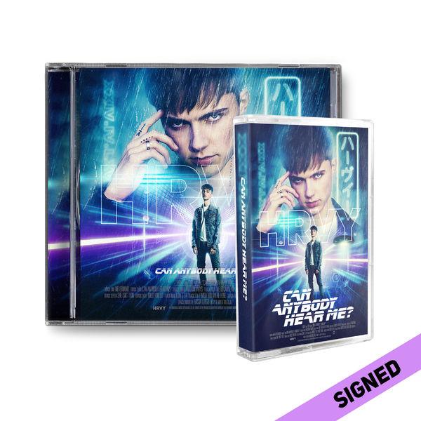 HRVY: Can Anybody Hear Me? Signed Standard CD & Cassette