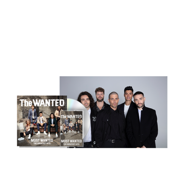 The Wanted: THE MOST WANTED - SIGNED DELUXE CD + CASSETTE + FANIFIED POSTER