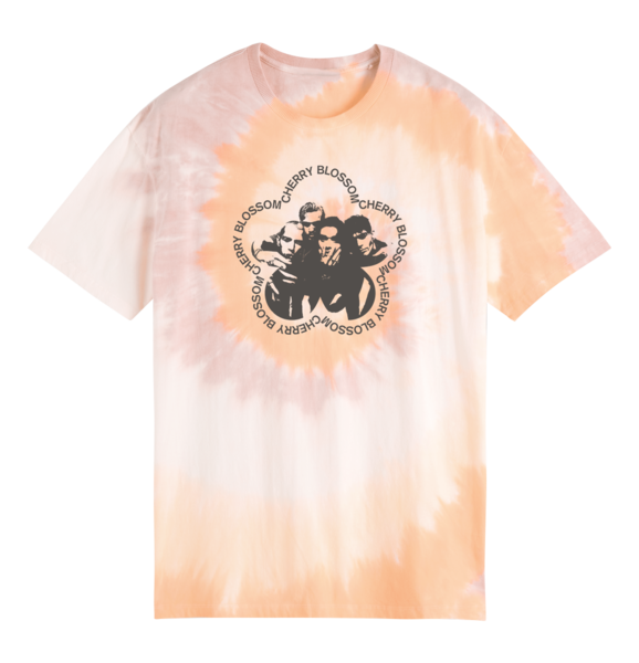 The Vamps: Tie Dye Tracklist T Shirt