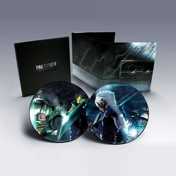 Nobuo Uematsu: Final Fantasy VII (Remake)/ Final Fantasy VII: Deluxe Double Picture Disc Vinyl