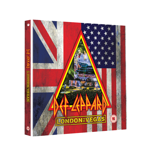 Def Leppard: London To Vegas: Deluxe 2 BLU-RAY + 4CD Box Set