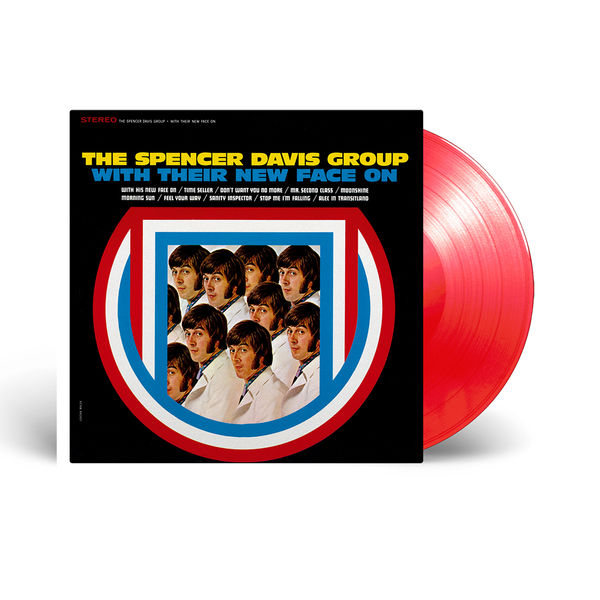 The Spencer Davis Group: With Their New Face On: Limited Edition Red Vinyl