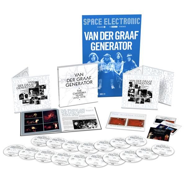 Van Der Graaf Generator: The Charisma Years: Deluxe 20 Disc Box Set + Exclusive Poster