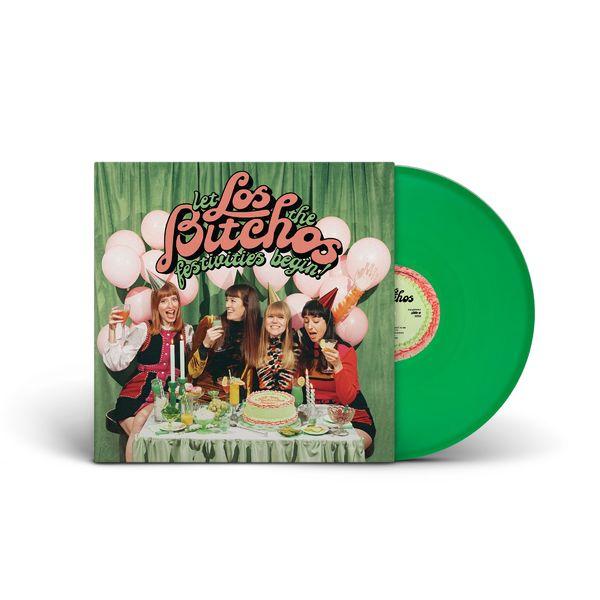 Los Bitchos: Let The Festivities Begin!: Green Vinyl LP + Print