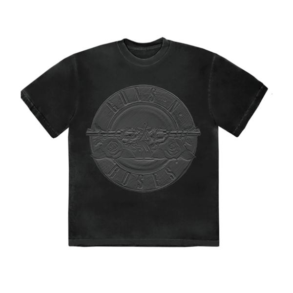 Guns N' Roses: Charcoal Sketch Seal T-Shirt