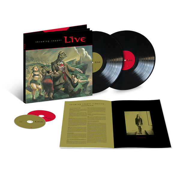 Live: Throwing Copper (25th Anniversary): Exclusive Super Deluxe Vinyl