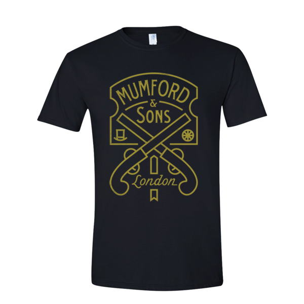 Mumford & Sons : Pistol Label T-shirt