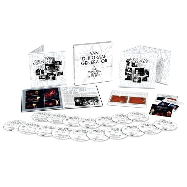 Van Der Graaf Generator: The Charisma Years