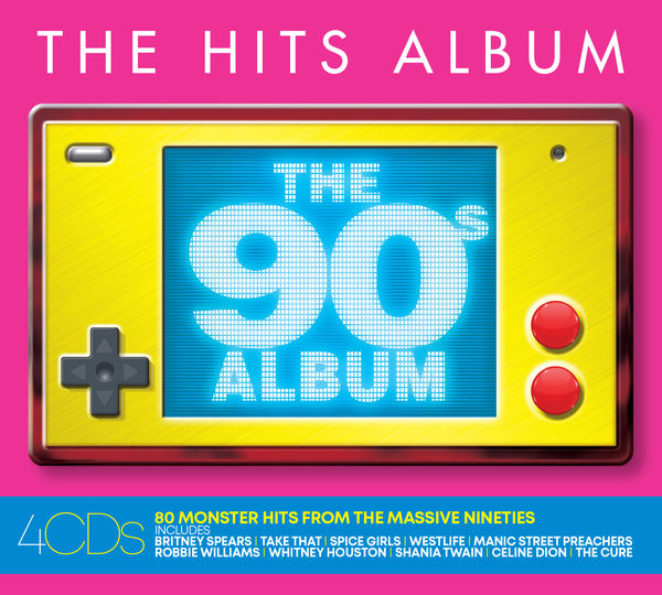 Various Artists: THE HITS ALBUM: THE 90'S ALBUM