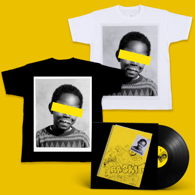Dizzee Rascal: Raskit Signed LP + Face T-Shirt