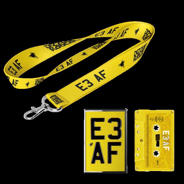 Dizzee Rascal: E3 AF: Cassette, Lanyard + Signed Art Card