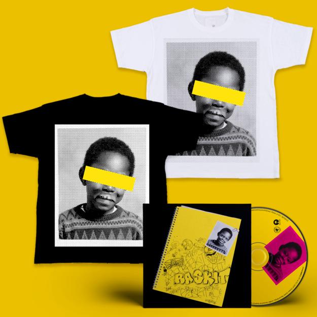Dizzee Rascal: Raskit Signed CD + Face T-Shirt