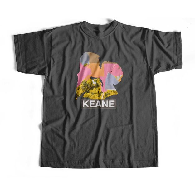 Keane: Cause and Effect 2020 Tour Ladies T Dark Grey