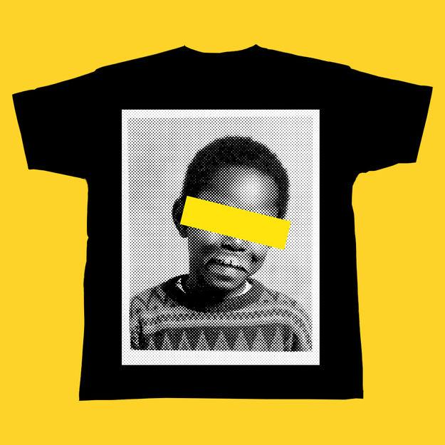 Dizzee Rascal: Face T-Shirt Black