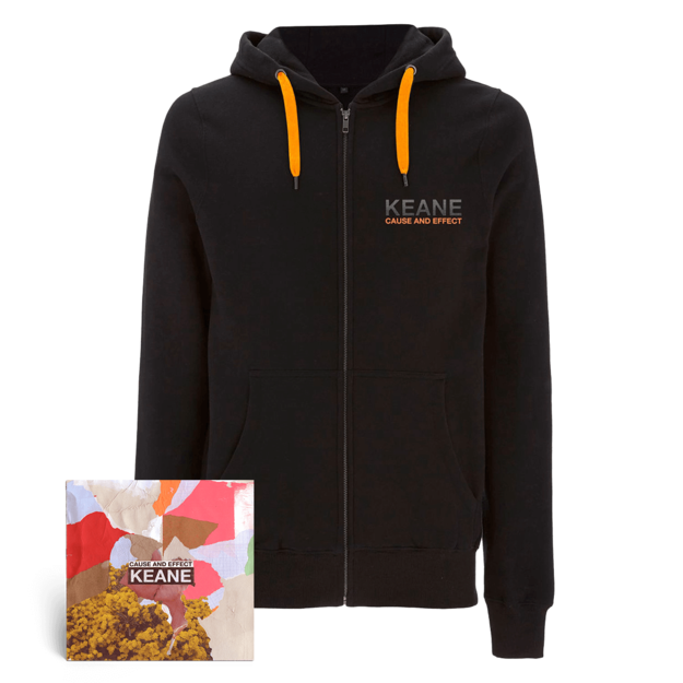 Keane: Cause and Effect: Deluxe CD + Hoodie